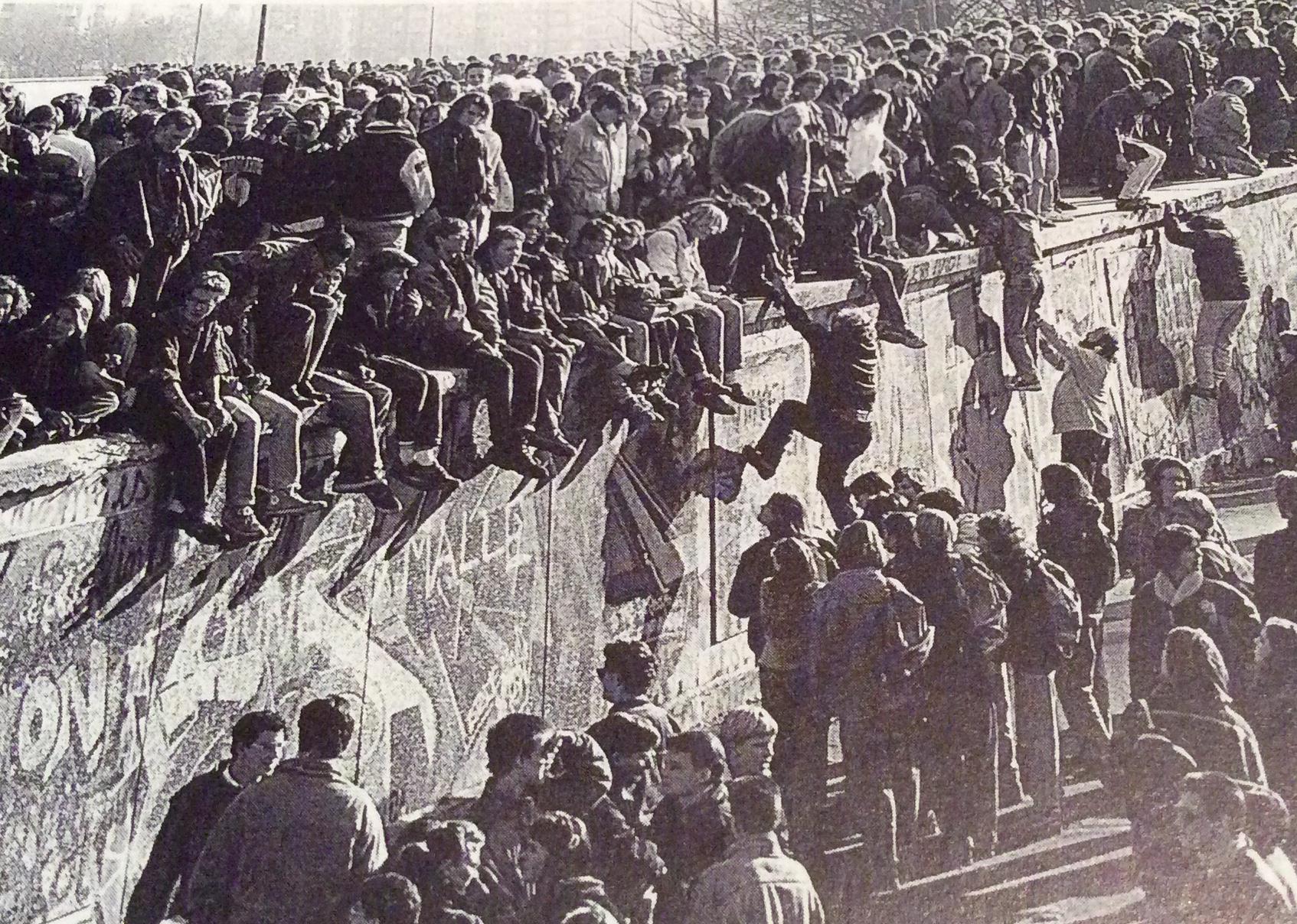 Muro Berlin Caida